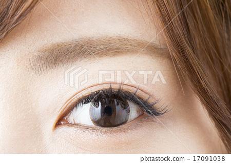 照片 人物 学生 小学生 眼睛 目光 眼  *pixta限定素材仅在pixta网站