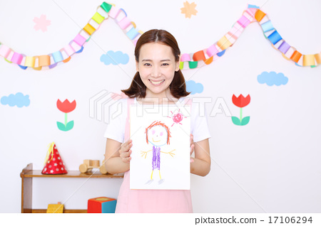 图库照片: 图画 画图 护士图片