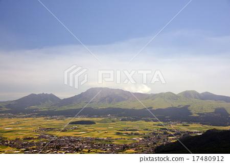 图库照片: 阿苏山 阿苏五岳 风景