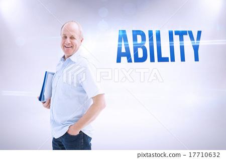 ability昭.�9.b9�#h�_图库照片: ability against grey background