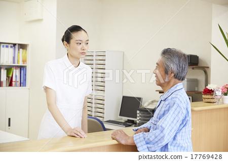 办公室玩护士囹f_图库照片: 护士 护士站 护士办公室
