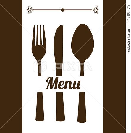 插图素材: restaurant menu