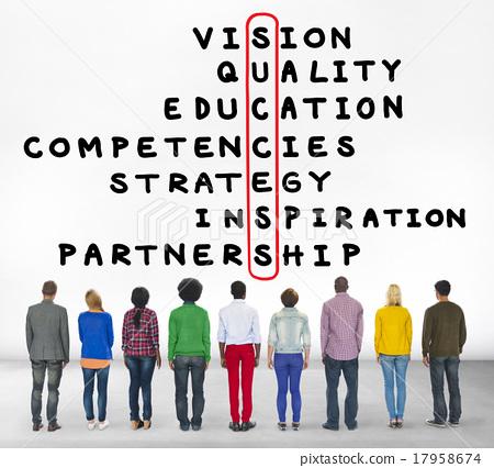 图库照片: success goal target victory strategy vision concept