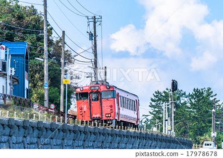 图库照片: 火车 电气列车 赫德岛和麦克唐纳群岛线