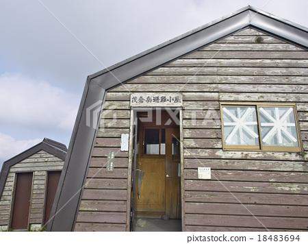图库照片: 山野中的小木屋 建筑 新泻县