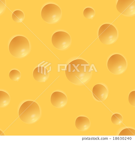 插图素材: cheese pattern