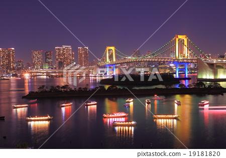 日本风景 东京 台场 照片 台场 夜景 彩虹桥 首页 照片 日本风景 东京
