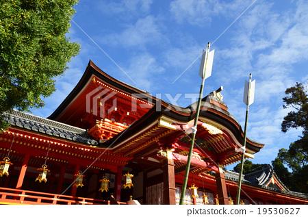 图库照片: 石清水八幡宫 八幡神社 主殿区
