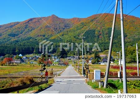 图库照片: 铁路道口风景(14)