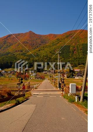 图库照片: 铁路道口风景(17)