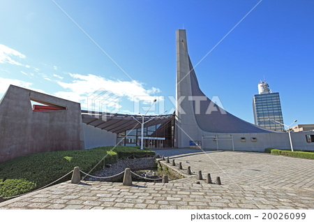 图库照片: 国立代代木体育馆 日本 东京