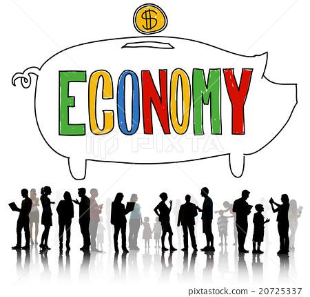 图库照片: economy financial banking saving money concept
