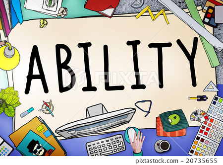 ability昭.�9.b9�#h	�_图库插图: ability skill performance expertise talent concept