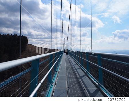 照片 三岛市 静冈 吊桥  pixta限定素材      三岛市 静冈 吊桥