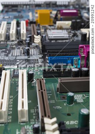 图库照片: 印刷电路板 基板 电脑线路板