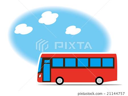 插图素材: 公共汽车 巴士 公车图片