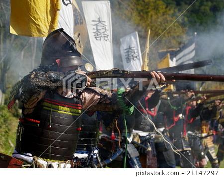 鱼_海鲜 金枪鱼 火绳枪(枪) 军事指挥官 日本武士  *pixta限定素材仅