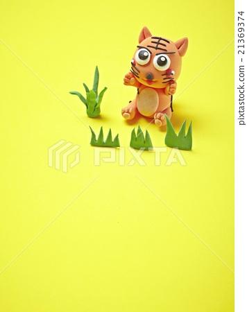 粘土 橡皮泥 老虎 首页 照片 动物_鸟儿 陆生动物 老虎 粘土 橡皮泥