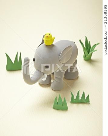 粘土 橡皮泥 大象 首页 照片 动物_鸟儿 陆生动物 大象 粘土 橡皮泥