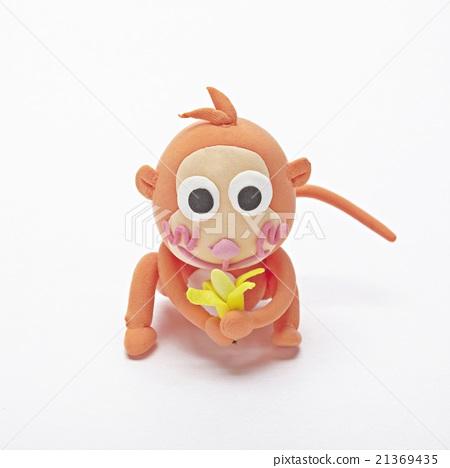 粘土 橡皮泥 猴子 首页 照片 动物_鸟儿 陆生动物 猴子 粘土 橡皮泥