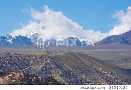 图库照片: 拉巴斯(玻利维亚西部城市) 风景 拉丁美洲