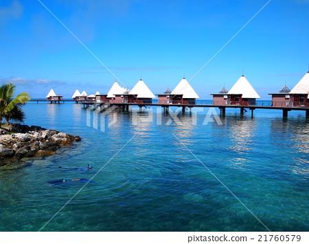 图库照片: 新喀里多尼亚 海滩 场景