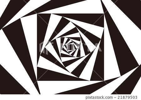 图库插图: 矢量 四边形 背景