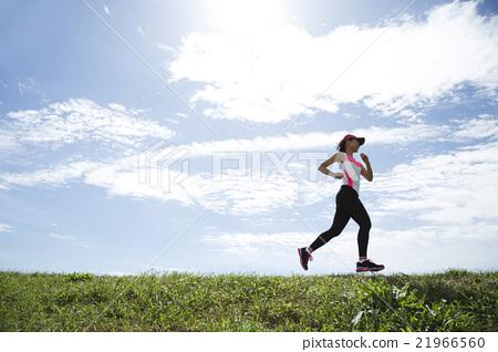 首页 照片 姿势_表情_动作 行为_动作 跑步 慢跑  *pixta限定素材仅在