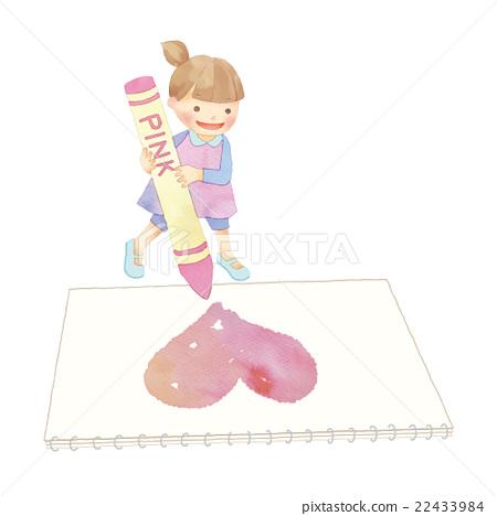 图库插图: 小孩 图画 画图图片