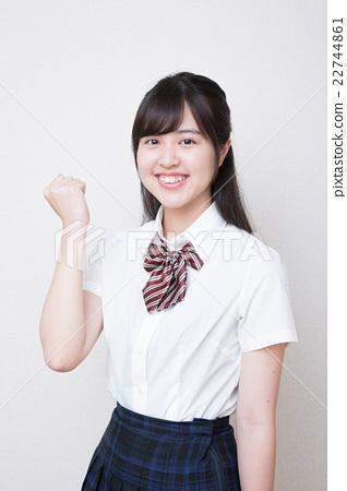 少女 首页 照片 人物 女性 女孩 女孩 高中生 少女  *pixta限定素材仅