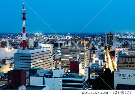 宇宫_图库照片: 宇都宫市 夜景 城市风光