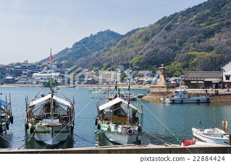 图库照片: 航海 出发 风景区