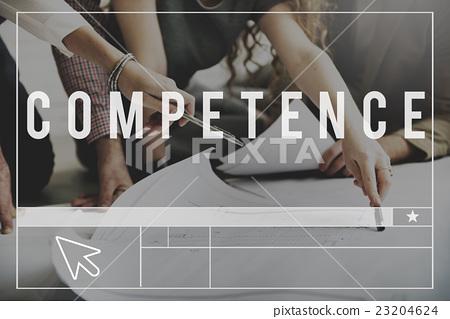 图库照片: competence skill ability performance expertise concept