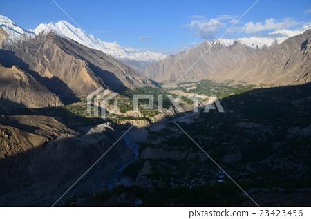 图库照片: 巴基斯坦 罕萨 风景