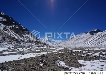 风景_自然 山 雪山 照片 埃佛勒斯峰 珠穆朗玛峰 雪山 首页 照片 风景