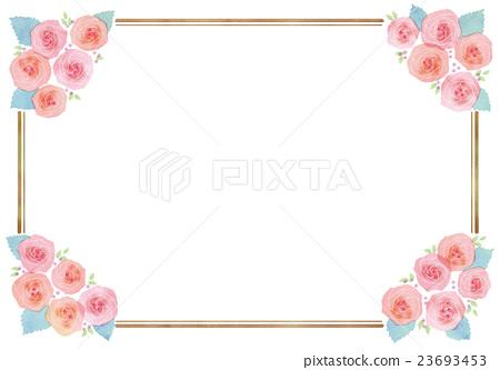 花朵 首页 插图 植物_花 玫瑰 玫瑰 玫瑰花 花朵  *pixta限定素材仅在