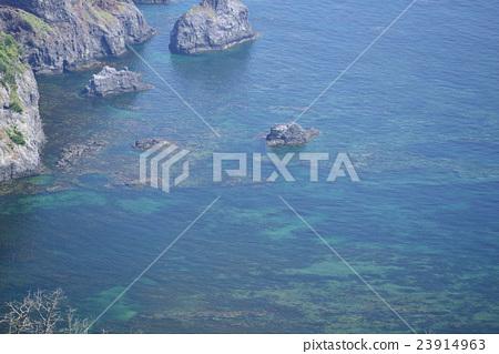 图库照片: 岛根县 海洋 海