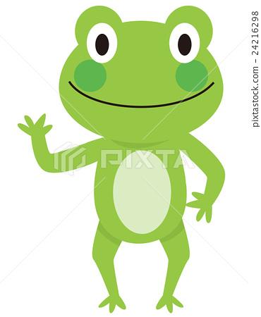 图库插图: 青蛙 矢量 卡通人物
