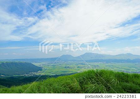 图库照片: 风景 熊本县 景观