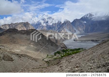 图库照片: 巴基斯坦 风景 堆