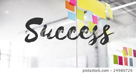 图库照片: success mission motivation victory goal growth concept