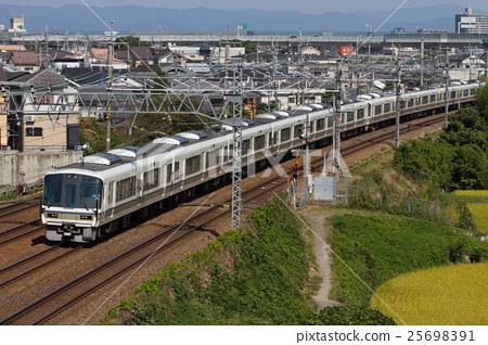 图库照片: 火车 电气列车 东海道本线