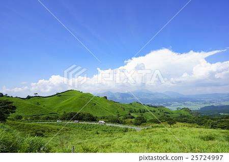 图库照片: 熊本县 景观 景色