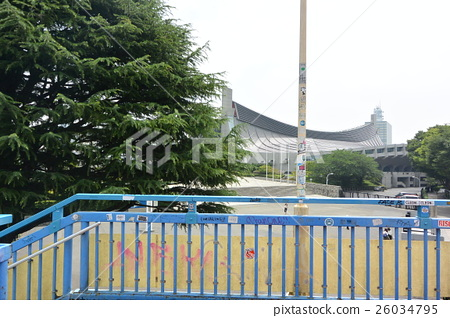 图库照片: 国立代代木体育馆 东京 涩谷区