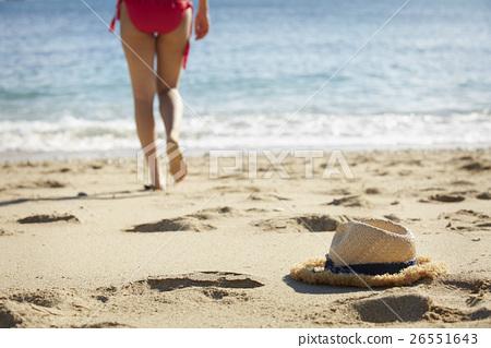 姿势_表情_动作 构图 背影 照片 南国 海滩 草帽 首页 照片 姿势_表情