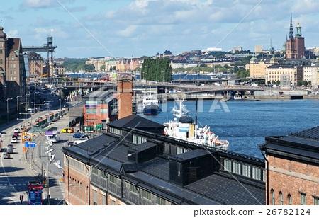 图库照片: 斯德哥尔摩,瑞典的风景