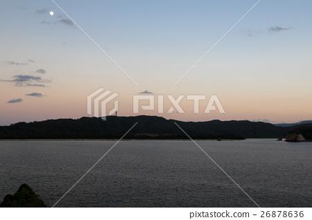 图库照片: 西表岛 视角 远景