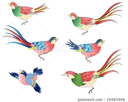 小鸟 插图 浮世绘 鸟儿 鸟 首页 插图 动物_鸟儿 鸟儿 小鸟 浮世绘