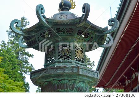 图库照片: 比睿山 灯笼 挂灯笼