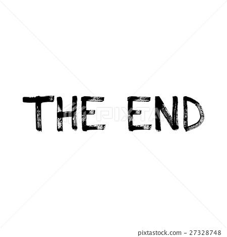 插图素材: the end of the inscription